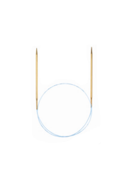 "Addi 40"" Addi Lace Circular Needles - US 1"