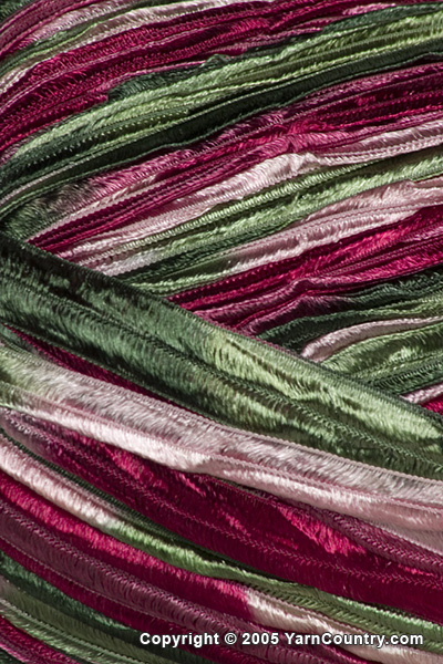 Crystal Palace Party Ribbon Yarn - Roses (# 415)