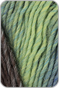 Plymouth Gina Yarn - Gray/ Blue/ Mint (# 17)