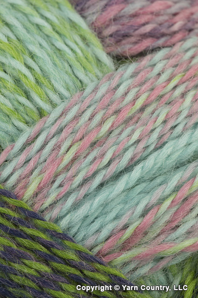 Schoppel Wolle Zauberball Crazy Yarn - Green/ Pink/ Mint (# 2170)