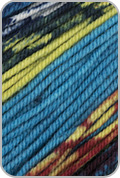 Schoppel Wolle Ambiente Yarn - Teal/ Lime/ Red(# 2184)