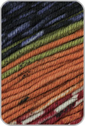 Schoppel Wolle Ambiente Yarn - Olive/ Orange/ Black/ Violet (# 2208)