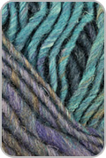 Noro Silk Garden Yarn - Blues/ Light Green (# 373)