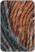 Noro Silk Garden Yarn - Black/ Pink/ Grey/ Orange (# 376)