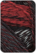 Schoppel Wolle Zauberball Crazy Yarn - Red/ Gray (# 2337)