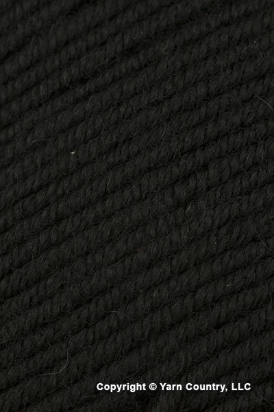 Plymouth Cammello Merino Yarn - Black (# 29)