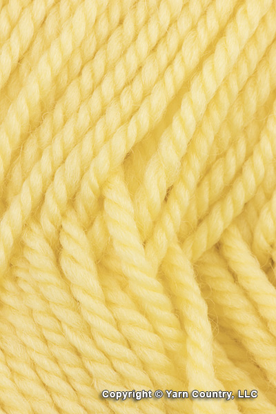 Ewe Ewe Wooly Worsted Yarn - Lemon Chiffon (# 40)