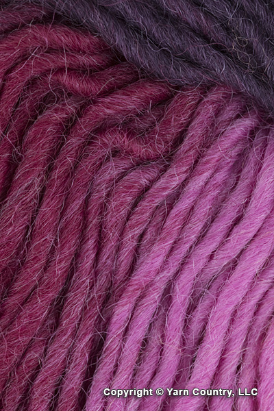 Plymouth Gina Yarn - Pink/ Red/ Wine (# 22)