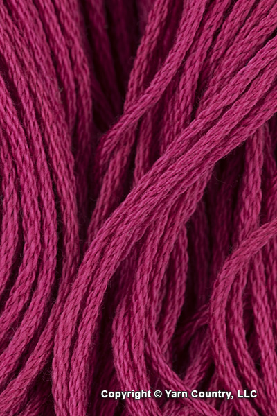 Tahki Yarns Cotton Classic Yarn - Dark Raspberry (#3465)