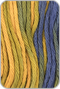 Knit One Crochet Too TY-DY Yarn - Citrus Blues (# 452)