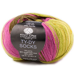 Knit One Crochet Too TY-DY Socks Yarn
