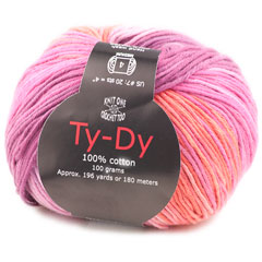 Knit One Crochet Too TY-DY Yarn