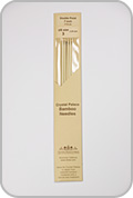 """Crystal Palace 7"""" Star Double Pointed Needles - Size - US 3"""