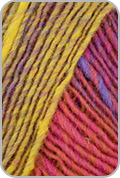 Noro Kureyon Yarn - Pink/ Yellows/ Red/ Blue (# 102)