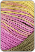Knit One Crochet Too TY-DY Yarn - Magenta Moss (# 574)