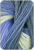 Knit One Crochet Too TY-DY Socks Yarn - Blueberry Fields (# 1631)