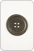Rowan Rowan Buttons - Gun Metal Button
