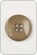 Buttons Etc Buttons Etc Buttons - Large Double Square Button - Khaki