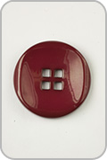 Buttons Etc Buttons Etc Buttons - Large Double Square Button - Red