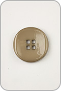 Buttons Etc Buttons Etc Buttons - Small Double Square Button - Khaki