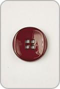 Buttons Etc Buttons Etc Buttons - Small Double Square Button - Red