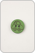 Buttons Etc Buttons Etc Buttons - Car Button - Green