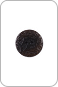 Renaissance Buttons Renaissance Buttons - Ornate Corozo Button - Brown (Large)