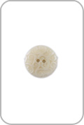 Renaissance Buttons Renaissance Buttons - Ornate Corozo Button - Beige (Small)