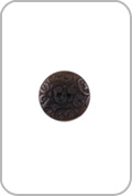 Renaissance Buttons Renaissance Buttons - Ornate Corozo Button - Brown (Small)
