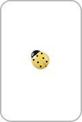 Renaissance Buttons Renaissance Buttons - Ladybug Button - Yellow