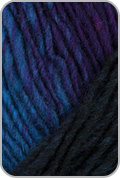 Noro Kureyon Yarn - Violet/ Blue/ Turquoise/ Brown (# 327)