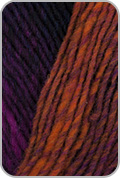 Noro Kureyon Yarn - Orange/ Green/ Black/ Blue (# 329)