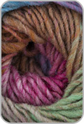 Noro Kureyon Yarn - Pink/ Fuchsia/ Mint/ Brown (#348)