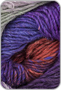 Noro Silk Garden Yarn - Orange/ Lilac/ Purple/ Pink (# 389)