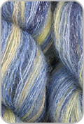 Artyarns Silk Mohair Glitter Yarn - Starry Night & Silver (# 507)