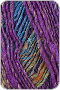 Noro Janome Yarn - Turq/ Black/ Purple /Olive (# 08)