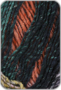 Noro Janome Yarn - Wine/ Olive/ Black/ Orange (# 10)