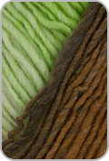 Noro Kureyon Yarn - Ecru/ Lime/ Brown/ Caramel (# 350)