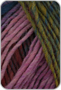 Noro Kureyon Yarn - Green/ Red/ Blue (# 362)