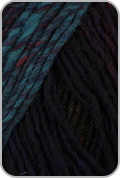 Noro Kureyon Yarn - Black/ Wine/ Purple (# 368)