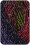 Noro Silk Garden Yarn - Olive /Red /Purple  (# 424)