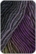 Plymouth Gina Yarn - Charcoal/ Mauve/ Lime (# 08)