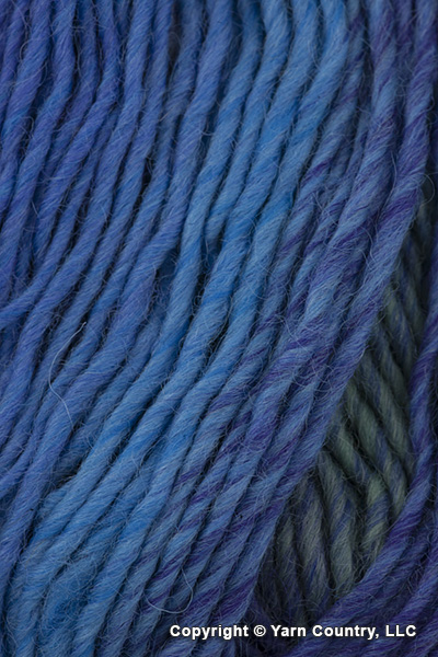 Plymouth Gina Yarn - Blue/ Purple/ Turquoise  (# 16)