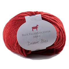 Blue Faced Leicester Aran Yarn <em>by Debbie Bliss