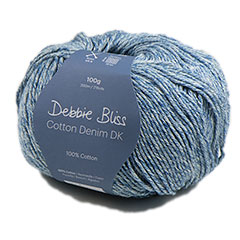 Cotton Denim DK Yarn <em>by Debbie Bliss