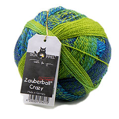 Zauberball Crazy Yarn <em>by Schoppel Wolle