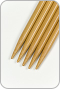 """Crystal Palace 8"""" Double Pointed Needles - Size - US 8"""
