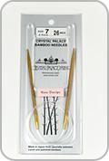 """Crystal Palace 26"""" Circular Needles - Size - US 7"""