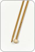 "Crystal Palace 12"" Single Pointed Needles - Size - US 2"