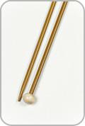 "Crystal Palace 12"" Single Pointed Needles - Size - US 4"